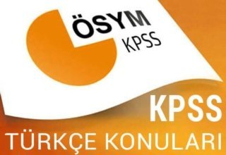 KPSS: Türkçe – I  Ses Bilgisi