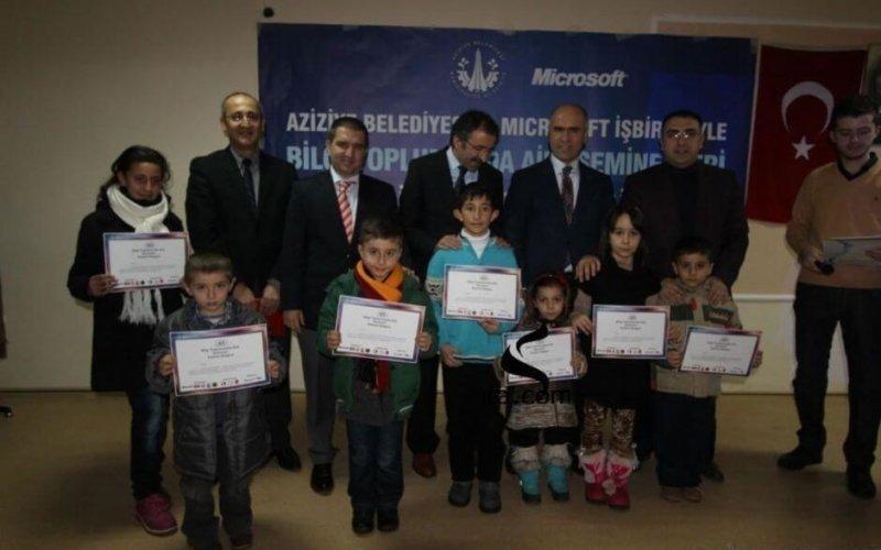 Microsoft Türkiye'den Erzurum'a Eğitim Çıkarması