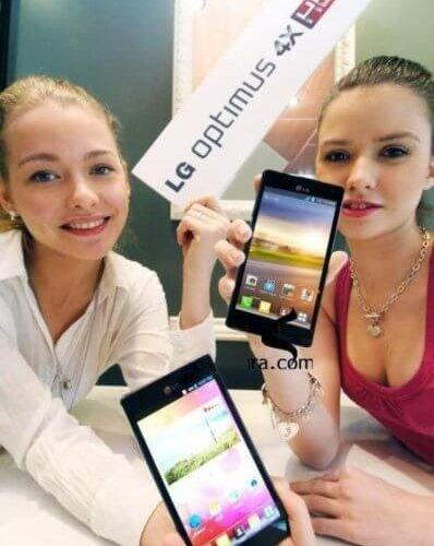 LG 'nin Dört Çekirdekli Smartphone'u Mobile World Congress'te Tanıtıldı