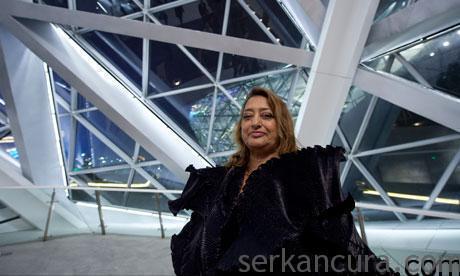 Dünyaca Ünlü Mimar Zaha Hadid 'den İzmir EXPO 2020'ye Destek!