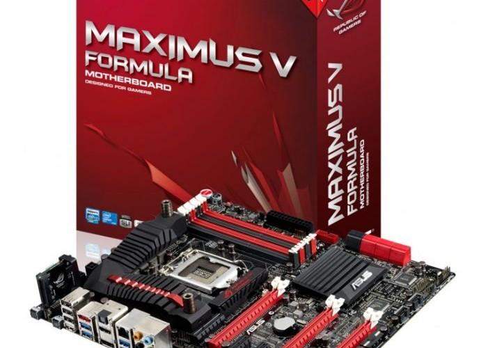 ASUS ROG Maximus V Formula anakart Computex'te 3 rekor birden kırdı!