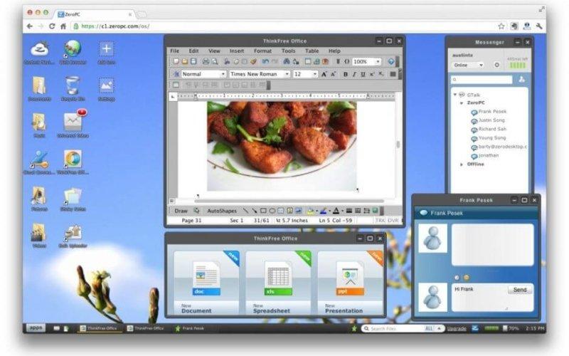 Citrix, VMware yada  ZeroPC  ile sanal masaüstü