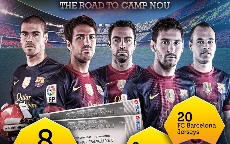 Türk Hava Yolları ile Camp Nou Facebook'a Taşınıyor, FC Barcelona Taraftarlarını Ödüllendiriyor!