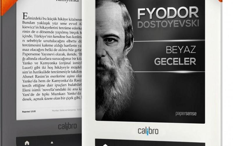 Türk e-kitap okuyucusu Calibro ile yepyeni okuma deneyimine ne dersiniz?