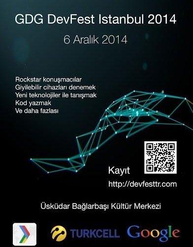 DevFest İstanbul'14 6 Aralık'ta