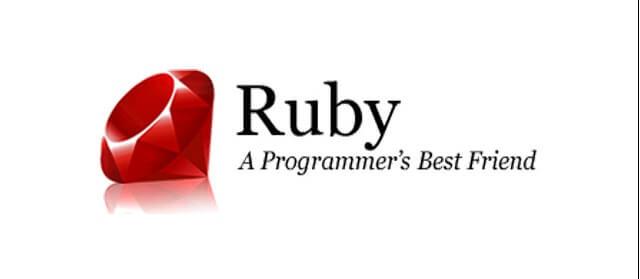 Ruby'de programı çalıştırmak